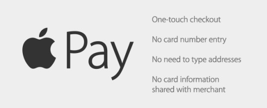 Now accepting Apple Pay